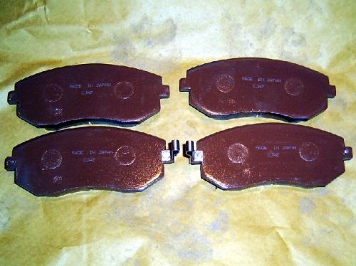 Brake pads, front, Forester/Impreza/Legacy 2002 on